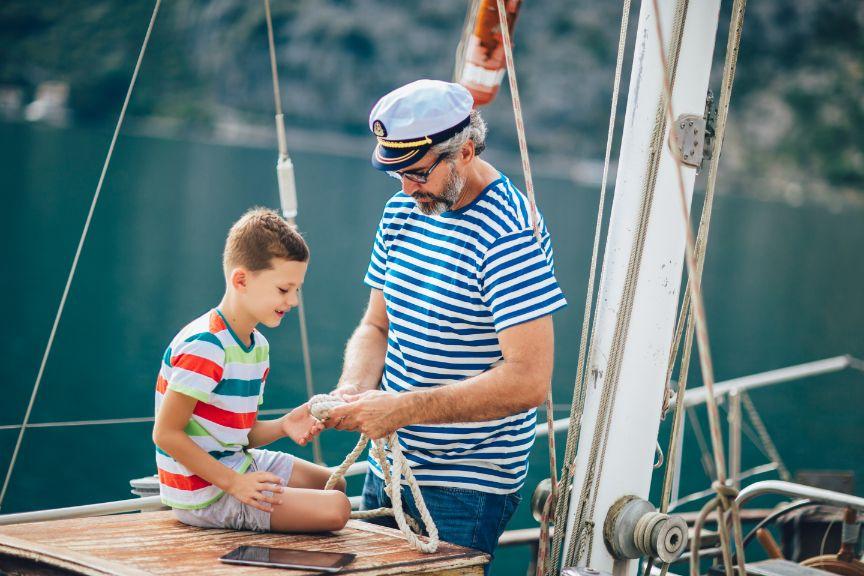 Prednosti jadranja z otroki 2