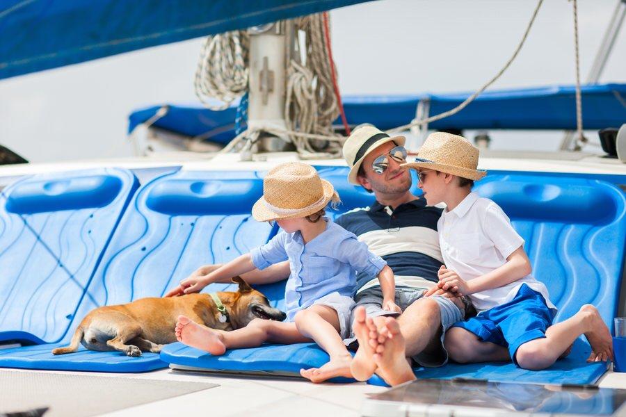 Jadranje s psom - 8 nasvetov, kako psu pomagati, da postane morski pes 1